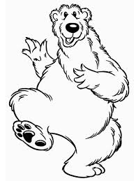 Bear Inthe Big Blue House Is Happy Coloring Pages Netart Happy Coloring Pages