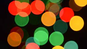 colorful flashing light bulbs computer generated seamless loop