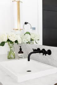 Brass Fixtures Bathroom Matte Black And Brass In The Bathroom Brody Designs