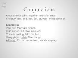 parts of speech nouns pronouns verbs modifiers conjunctions