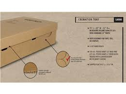 cremation boxes cremation containers trays liners wilbert funeral services