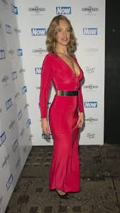 josie gibson shows weight loss at the now christmas party in