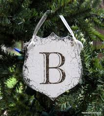 christmas ornaments with initials 103 best christmas monograms images on christmas deco