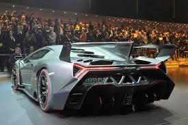 Lamborghini Veneno Back - lamborghini veneno live from geneva
