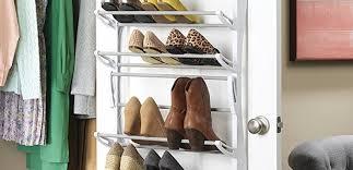 Shoe Rack For Closet Door Best The Door Shoe Rack Organizer Reviews Findingtop