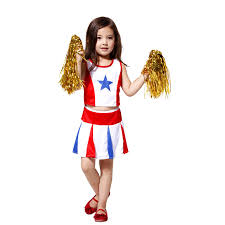 Cheerleader Costume Halloween Cheap Girls Cheerleader Costumes Kids Aliexpress