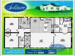 new 2017 solitaire homes dw ge 64 double section home at solitaire