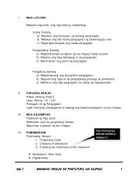 multigrade lesson plan in filipino uri ng pangngalan by sheena bern u2026