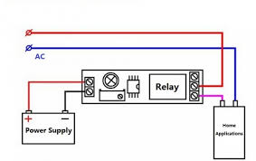 timer adjustable 12v delay realy module itead wiki