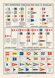 nautical flag vintage nautical navy sailing illustrations pennants flags