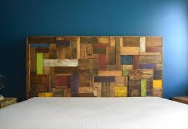 Headboards Made With Pallets Pallet Headboard 101 Pallets
