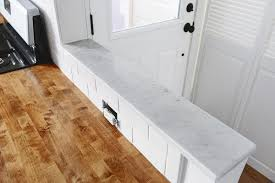 Polish Kitchen Petoskey How We Polished A Mini Marble Countertop For The Garden Kitchen