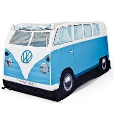 blue volkswagen volkswagen vw camper van pop up play tent kids play tents