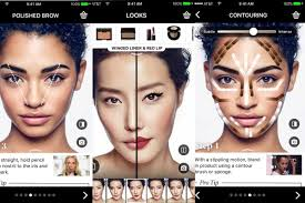 make up artist app sephora s app update lets you try makeup on at home