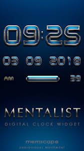digital clock widget apk mentalist digital clock widget apk for iphone android