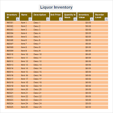 Free Inventory Spreadsheet Template Excel Sle Inventory Spreadsheet Template 5 Free Documents