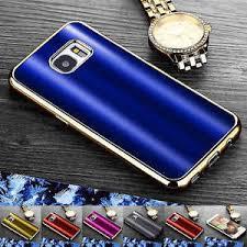 luxury shine slim fit chrome tpu cover for samsung