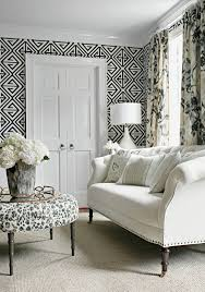 majestic black and white wallpaper house renovation pinterest