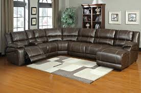 Chaise Lounge Sofa With Recliner Appealing Leather Sectional Recliner Sofas Design Gradfly Co