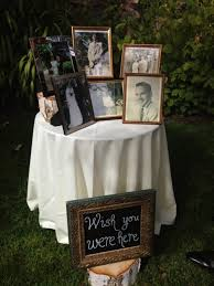 touching ways to remembering lost loved ones at a wedding