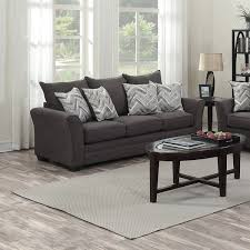 Contemporary Microfiber Sofa Stylish Grey Microfiber Sofa With Reed Grey Microfiber Reclining