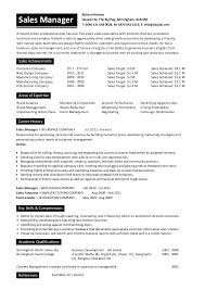 Manager Retail Resume Sample Of A Sales Resume Sales Template Sales Account Manager