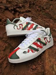 adidas x gucci gucci snake inspired adidas gazelle smcustoms