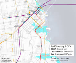 Map Of Bart Stations by Entwining Bart And Caltrain Elegantly In San Francisco