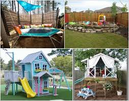 backyard play home outdoor decoration
