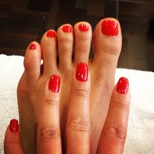 opi gel manicure and reg pedicure by cindy also she does a great