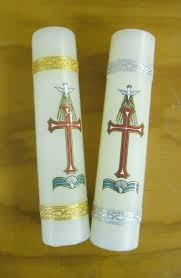 baptismal candle baptism candle church stores church supplies