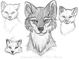 wolf faces by flyingpony on deviantart