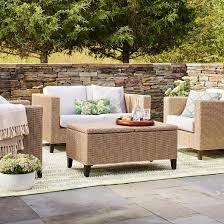 Threshold Chairs Fullerton 4 Piece Wicker Patio Furniture Set Threshold Target