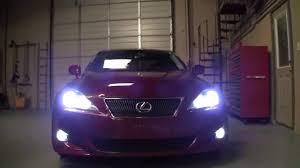 lexus is 250 headlight bulb lexus is250 custom lighting by advanced automotive concepts