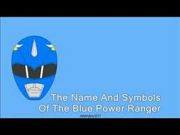 blue power ranger u0026 symbols super samurai kevin draw