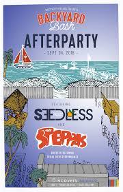 backyard bash afterparty ft seedless u0026 the steppas tickets