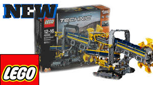 lego technic sets new lego technic set images 2016 bucket wheel excavator youtube