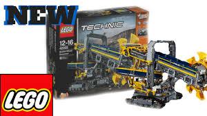 lego technic sets new lego technic set images 2016 bucket wheel excavator youtube