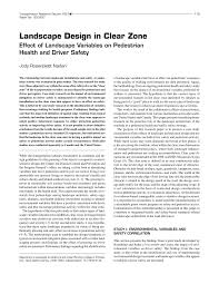 aashto clear zone table landscape design in clear zone effect of pdf download available