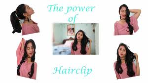 hair clip rambut cara pakai hairclip model rambut