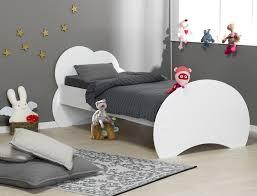 lit chambre fille lit enfant altéa blanc 90x190 avec sommier et matelas chambrekids