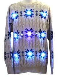 light up hanukkah sweater mens super jew lightup cable knit ugly christmas style lightup