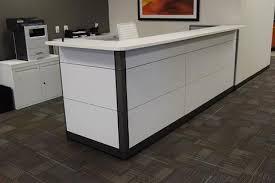 Logiflex Reception Desk Logiflex Inbox Series Reception U2013 Office Furniture Connection