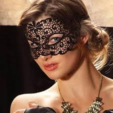lace mask 1pc black lace mask cutout eye mask for masquerade