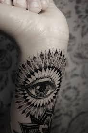 cool looking black eye tattoomagz