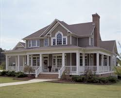 large country homes architectures homes with wrap around porches country style