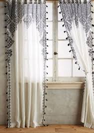 Whote Curtains Inspiration Diy Knock Off Anthropologie Curtain Inspiration Blog And Living