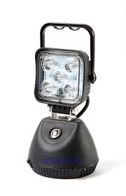 battery powered work lights led cordless work l light rechargeable portable battery operated
