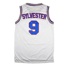sylvester t shirt sylvester the cat 9 space jam tune squad jersey jersey one