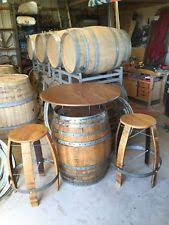 Wine Barrel Bar Table Wine Barrel Table Ebay
